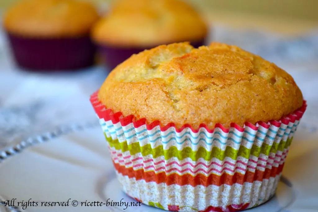 Muffin alla zucca Bimby  Ricette Bimby