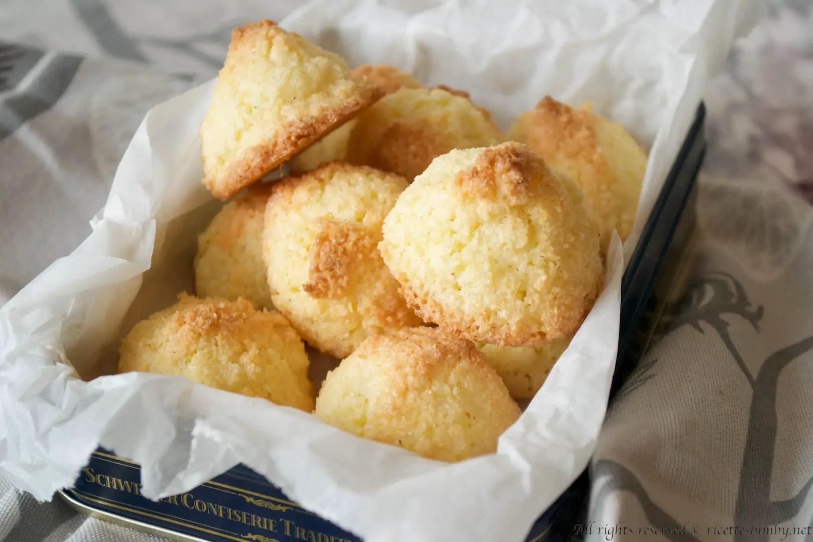Biscotti al cocco Bimby  Ricette Bimby