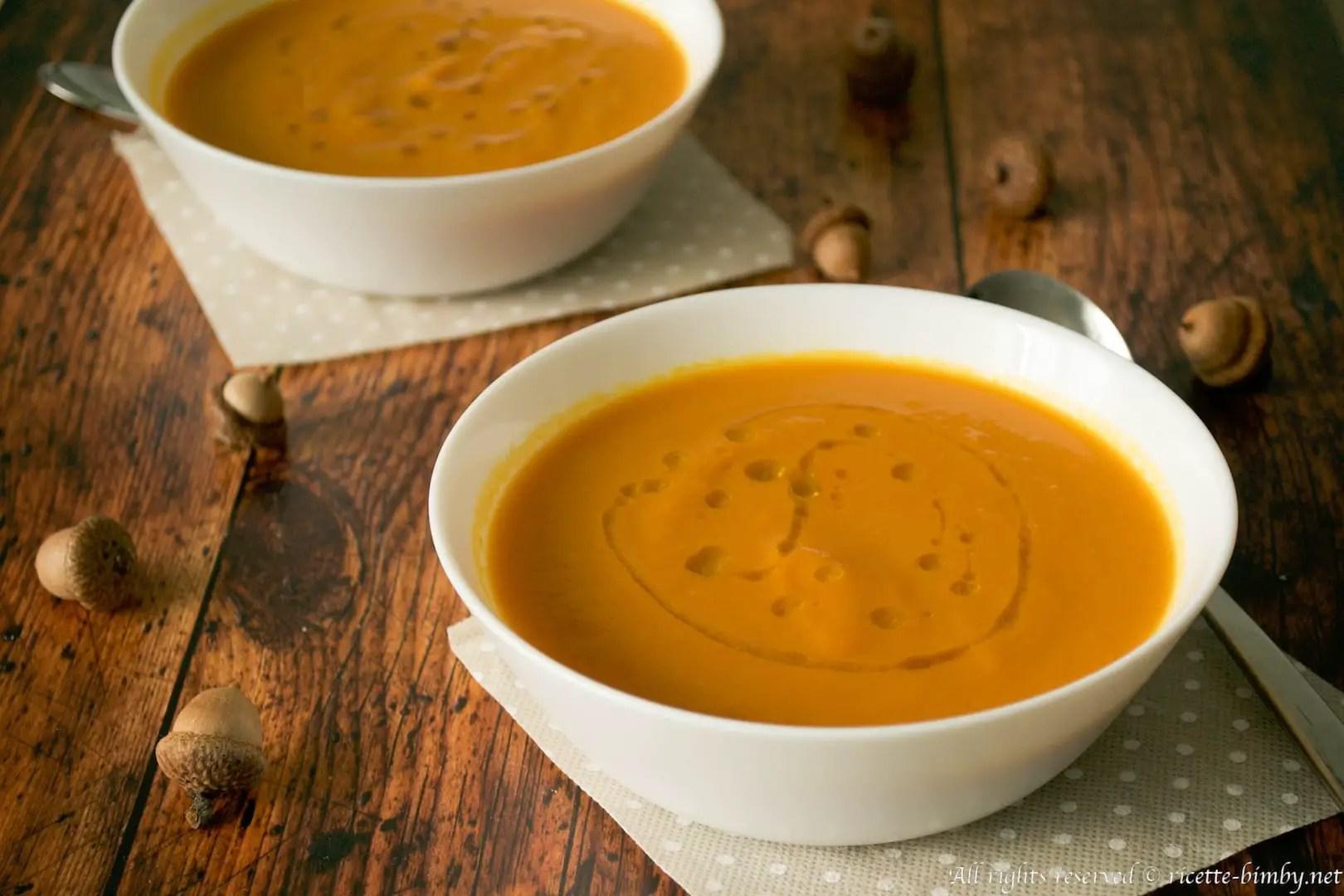 Crema di carote e zucca Bimby  Ricette Bimby