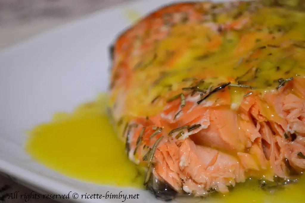 Salmone con salsa allarancia Bimby  Ricette Bimby
