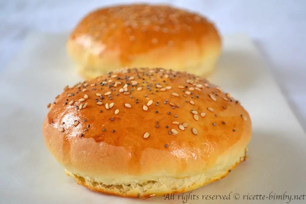 Burger Buns o Panini per Hamburger Bimby  Ricette Bimby