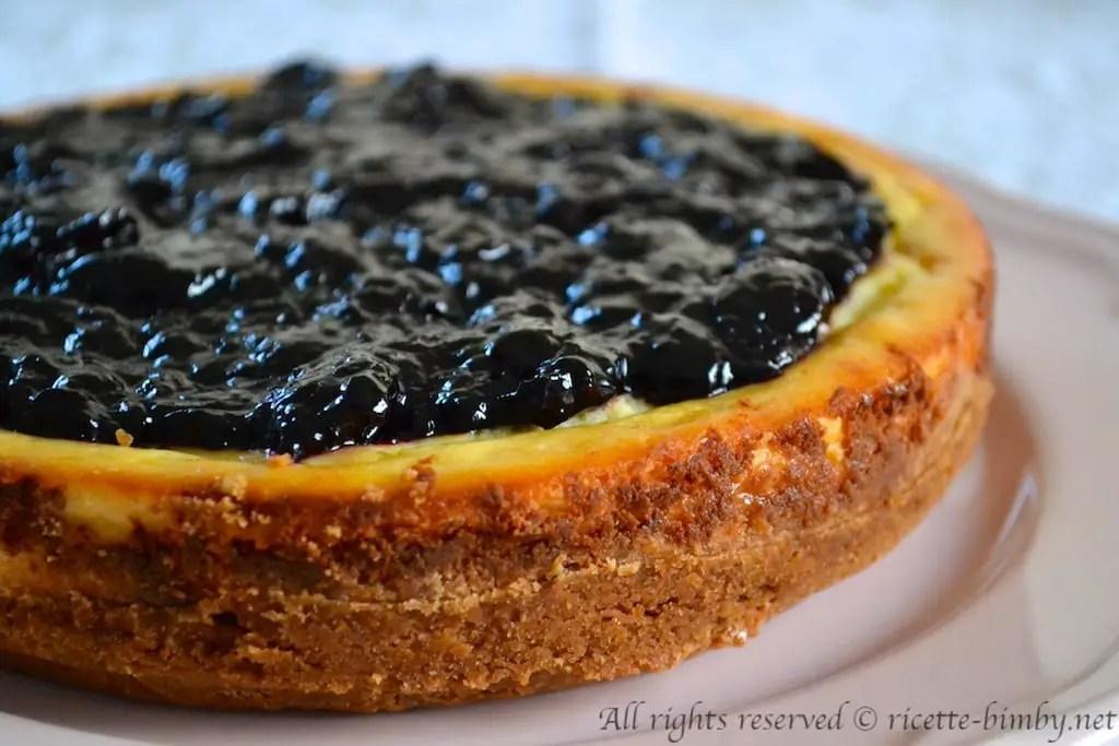 Cheesecake alla ricotta Bimby  Ricette Bimby