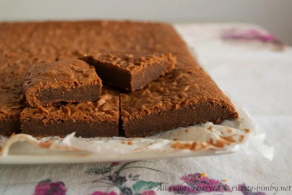 Brownies alla Nutella Bimby  Ricette Bimby