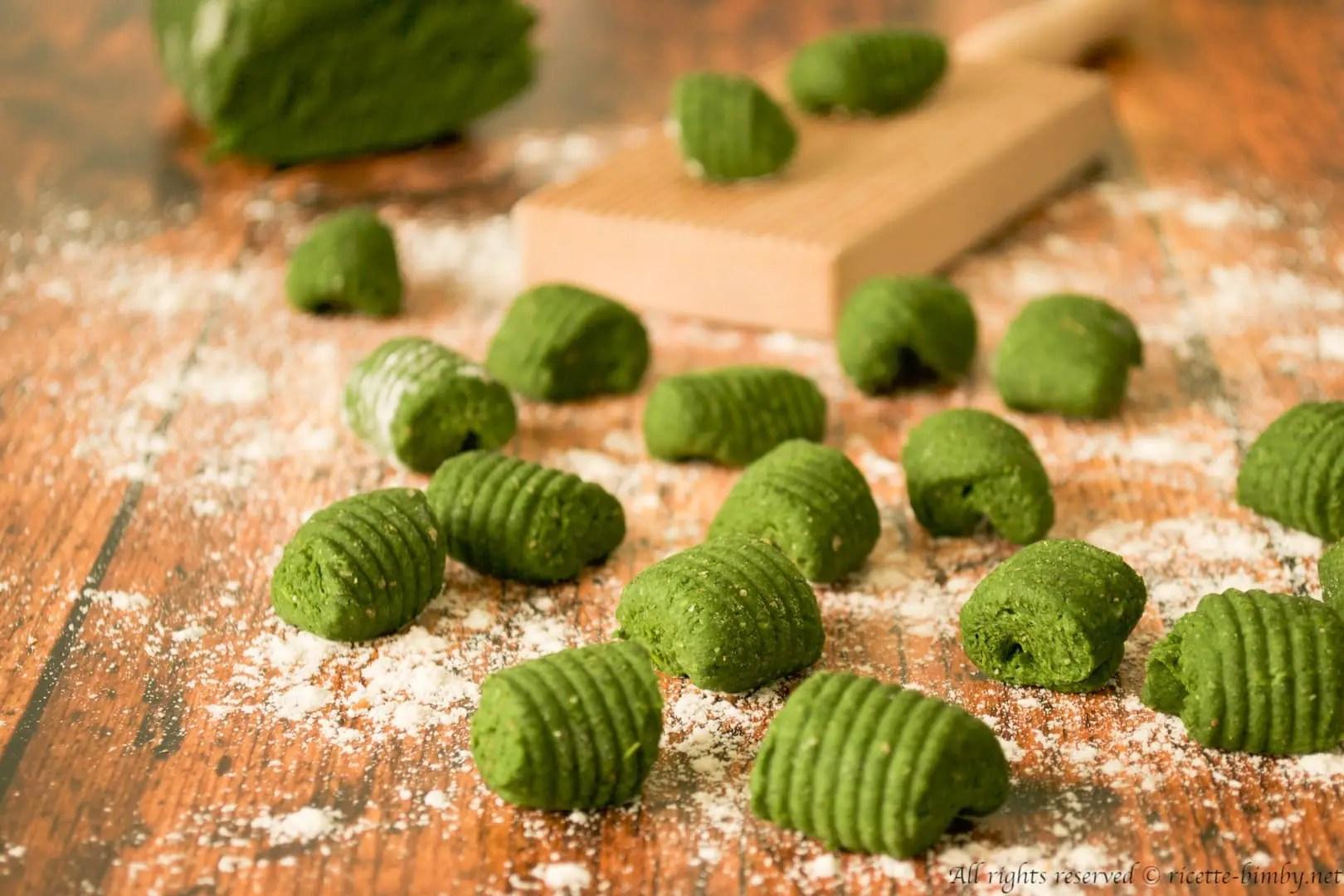 Gnocchi di spinaci senza patate Bimby  Ricette Bimby