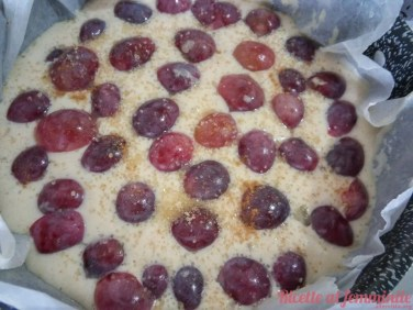 Torta all'uva senza grassi versione vegan - 14183848_1208630175837353_3508227050947739358_n