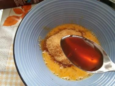 Torta con prugne secche e cioccolato - 4