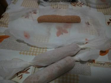 Wurstel fatti in casa con carne di pollo - IMG_20170822_194533