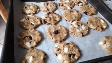 Biscotti pere e cioccolato senza burro - IMG_20180313_123847