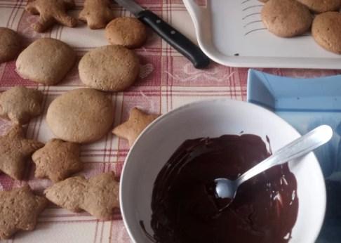 Ricetta lebkuchen biscotti speziati di Natale - prep-4-lebkuchen