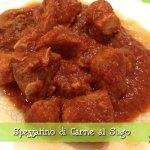 Spezzatino di carne al sugo con il Cuisine Companion