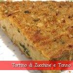 Tortino di Zucchine e Tonno con il Cuisine Companion