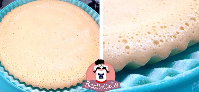 crostata morbida base pan di spagna senza lievito monsieur cuisine moncu moulinex cuisine companion ricette cuco bimby 4