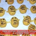Apine di Miele, Mandorle e Zafferano con il Cuisine Companion di Marilena Mais (Ricetta di Danda) – Natale con RicetteCuCo