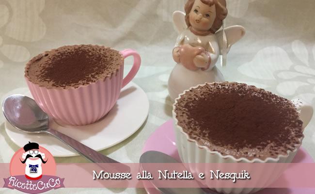 mousse alla nutella e nesquik veloce facile senza cottura monsieur cuisine moncu moulinex cuisine companion ricette cuco bimby kenwook kcook.jpg