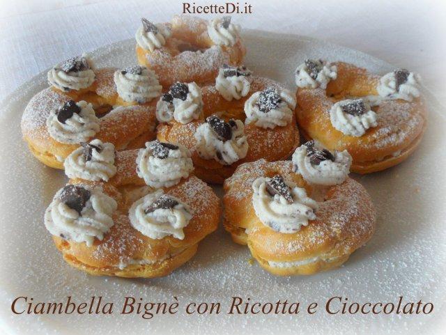 10_bigne_ricotta_e_cioccolato