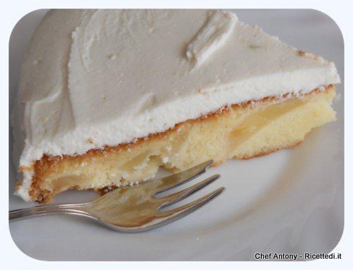torta ricotta e pere di Chef Antony - ricettedi.it