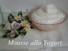 mousse allo yogurt