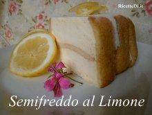 semifreddo con pavesini e mousse al limone
