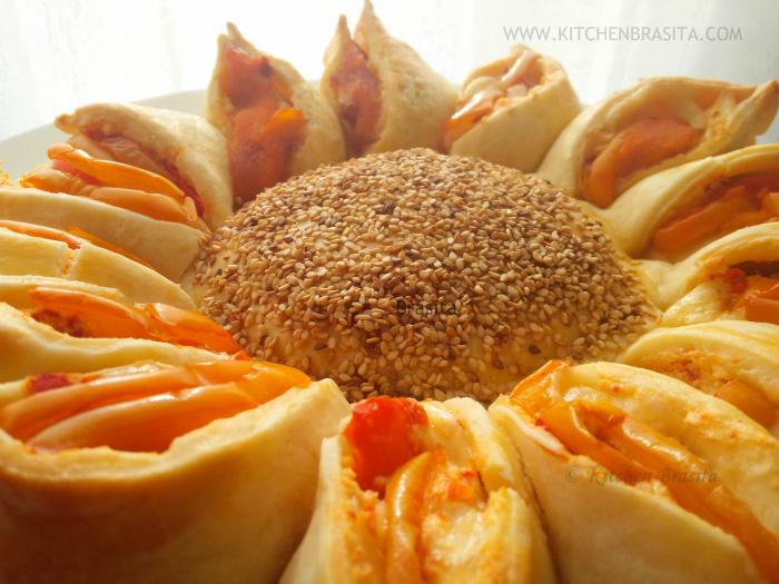 torta girasole come fare