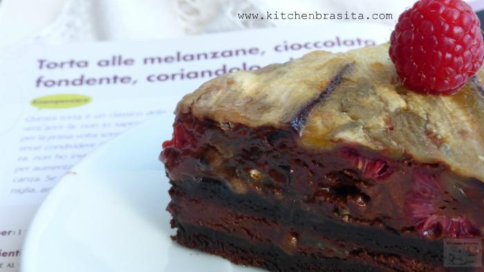 fetta torta melanzane e cioccolato 3