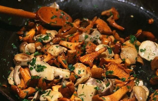 Finferli aglio e olio in padella  Ricette in 30 minuti