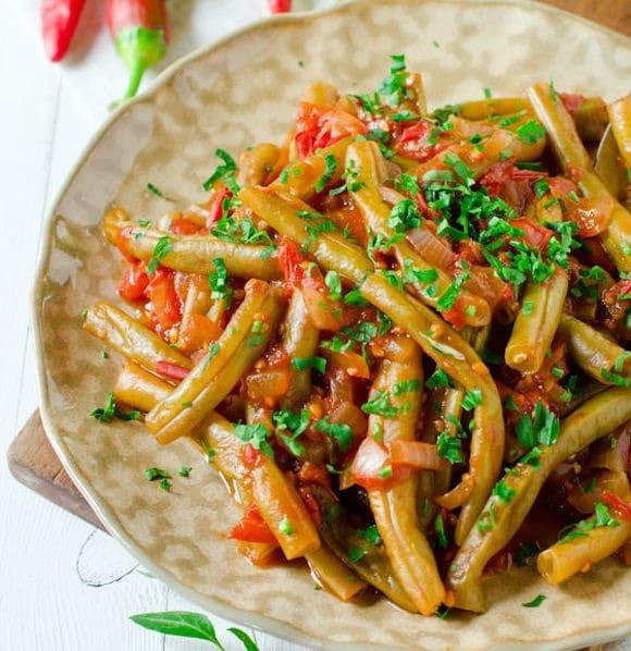 Lubiyeh cucina libanese ricette I fagiolini e pomodoro  Ricette in 30 minuti
