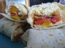 Silvana's breakfast burritos
