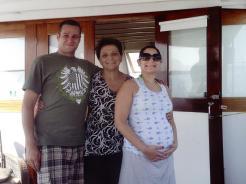 Me, Grandma Milka, and Tina