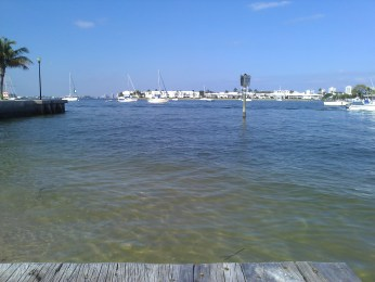 View from the boat ramp