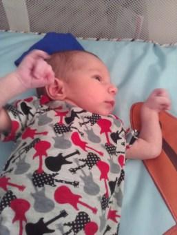My little rockstar