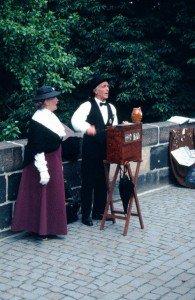 Prague Organ Grinder 1990