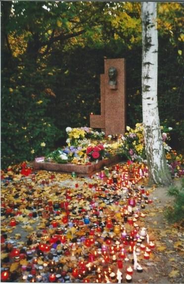 Dubcek's Grave