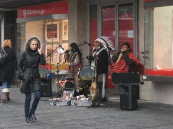 Old New Year Street Musicians