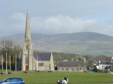 Isla of Man St. John's Church at Tynwald, The site where Parliamant first met.