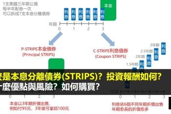本息分離債券STRIPS是什麼?有什麼優點與風險?投資報酬如何?如何購買?