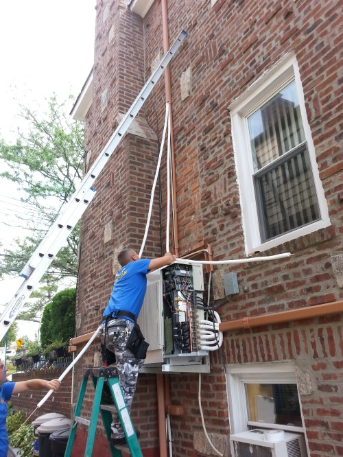small resolution of  ductless mini split professional installation