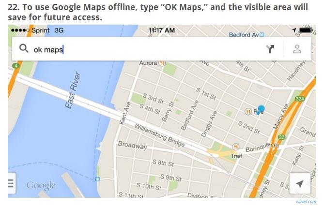 Tip - Google Maps