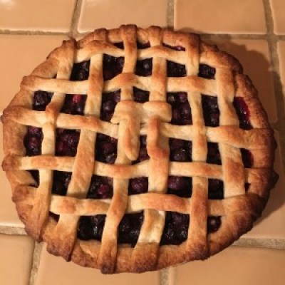 Bluberry Pie in Honor of Pi Day