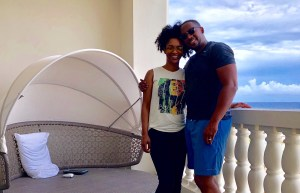 Mr and Mrs r&R in Montego Bay Jamaica