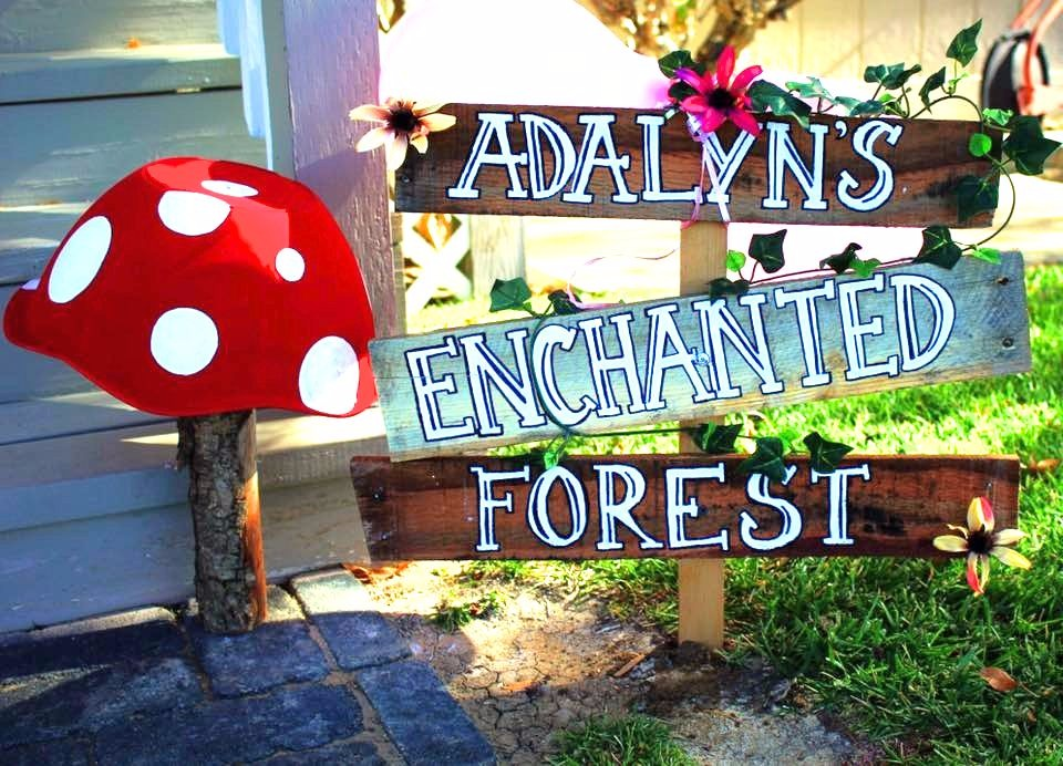 ENCHANTED FOREST THEME BIRTHDAY