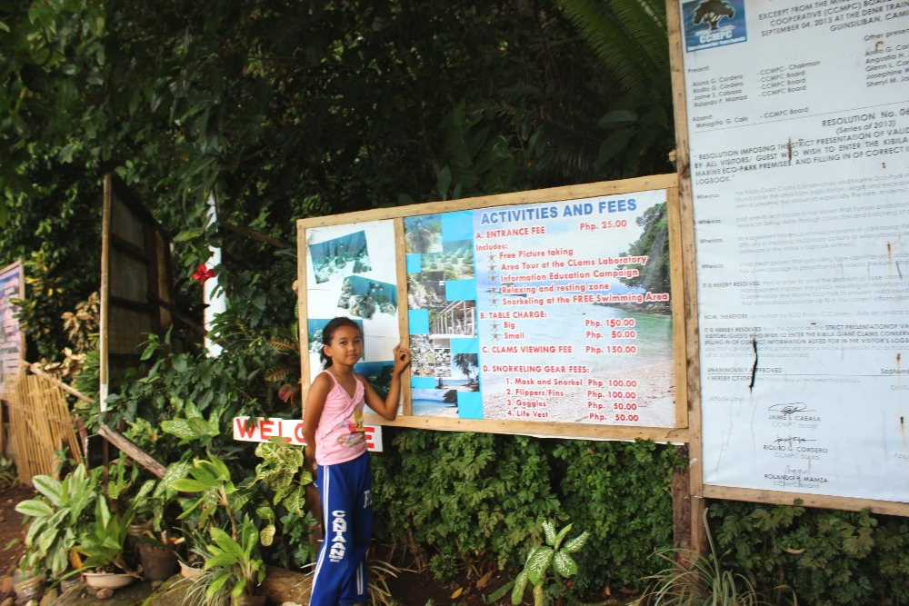 GIANT CLAM SANCTUARY CAMIGUIN