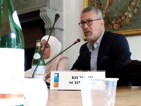 Mit Canan Yasar, Bundesvorstand Muslimische Jugend Österreich