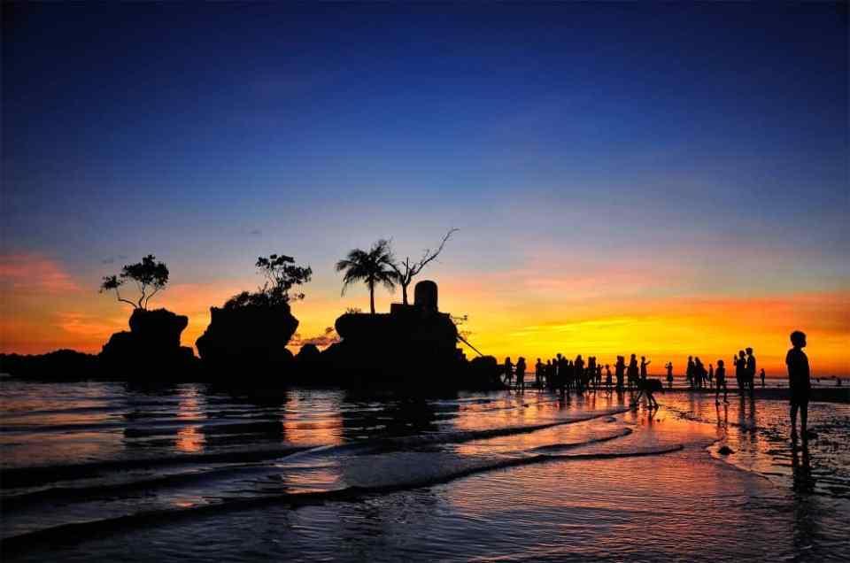 Sunset, Boracay, Philippines
