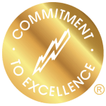 Commitment-To-Excellence-In-Gold-With-Gold-Registered Trademark