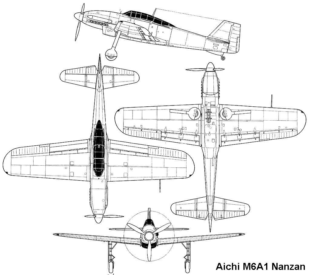 Aichi M6A1-K Nanzan Info