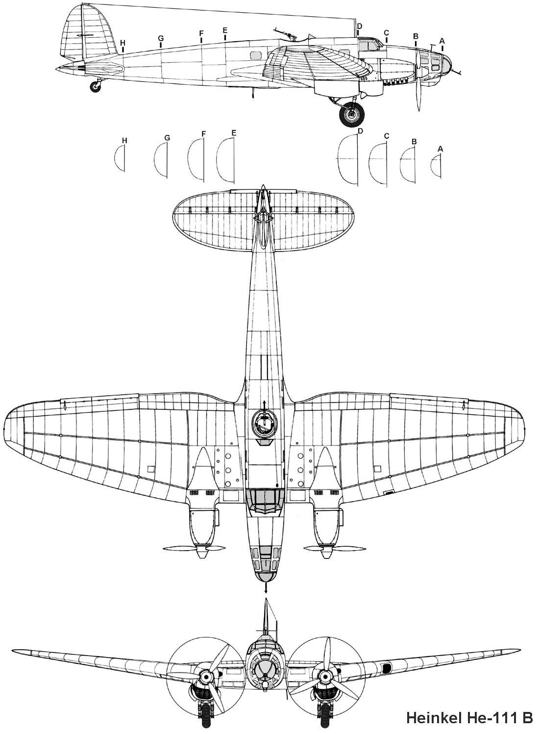 Monografie Heinkel He 111