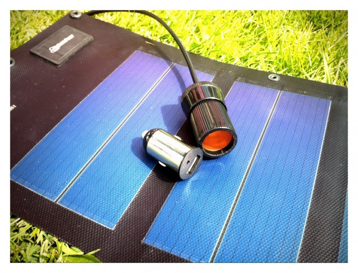 6.5W Folding Solar charger MMP4 (2/6)