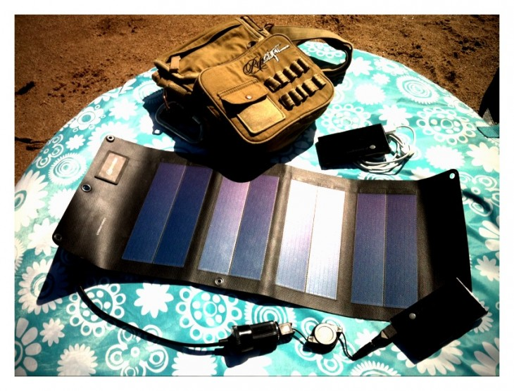 6.5W Folding Solar charger MMP4 (1/6)