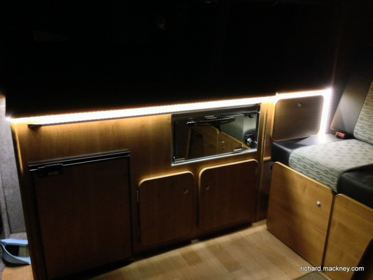 LED lighting for the Campervan (1/4)