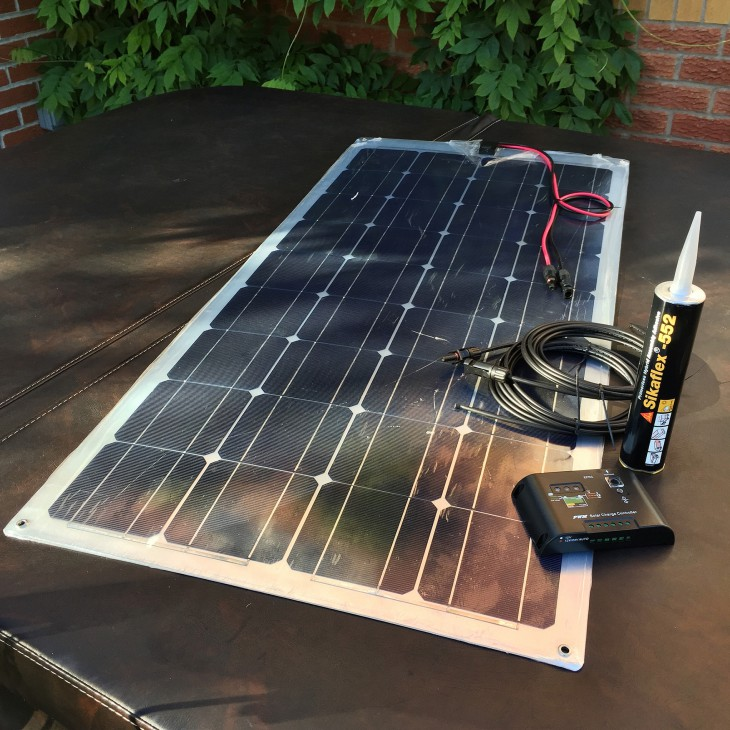 Campervan Solar Panel Installation